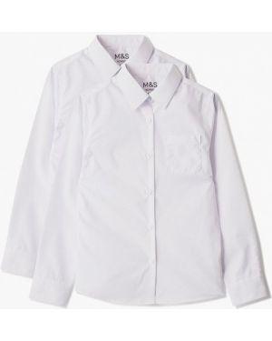 Блуза белая Marks & Spencer