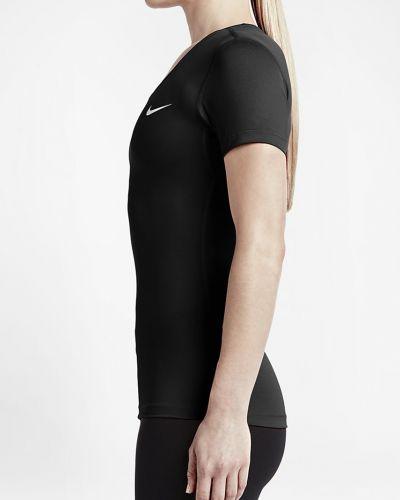 Футболка однотонная облегающая Nike