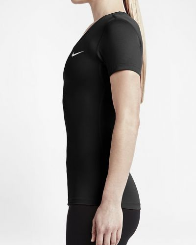Футболка однотонная облегающая до колен Nike