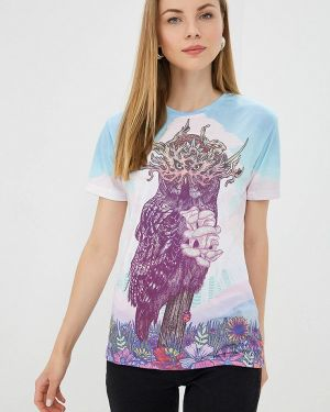 Разноцветная футболка Aloha From Deer
