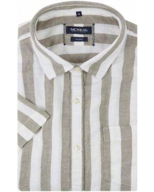 Koszula krótkie z krótkim rękawem w paski z paskami Mcneal
