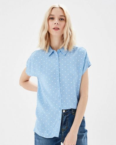 Голубая блузка Sela