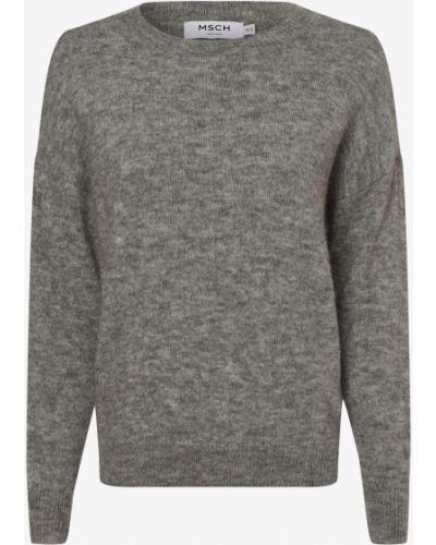Szary sweter moherowy Moss Copenhagen