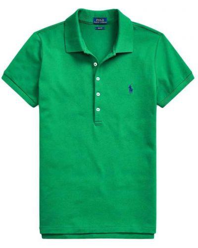 Zielona koszulka krótki rękaw Polo Ralph Lauren