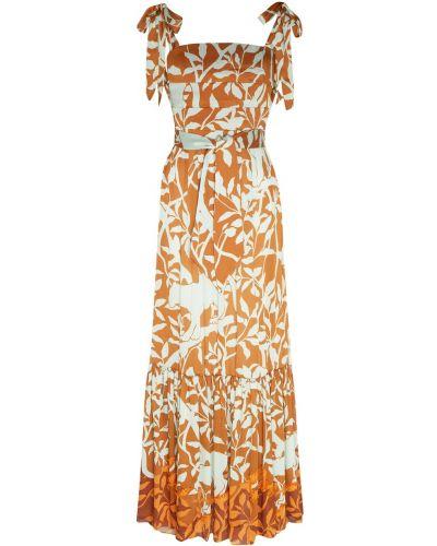 Платье макси бандо с поясом Johanna Ortiz