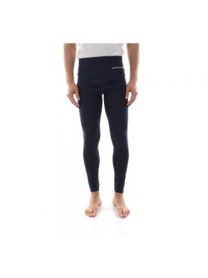 Niebieskie legginsy sportowe Tommy Hilfiger