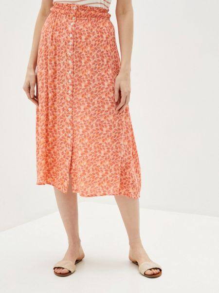 Оранжевая юбка Blendshe