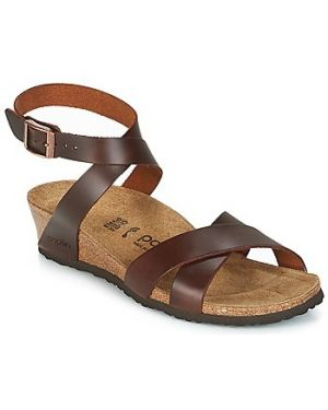 Brązowe sandały Papillio