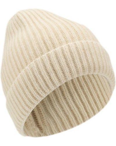 Белая шапка кашемировая Tsum Collection