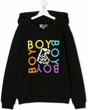 Черный свитшот Boy London Kids