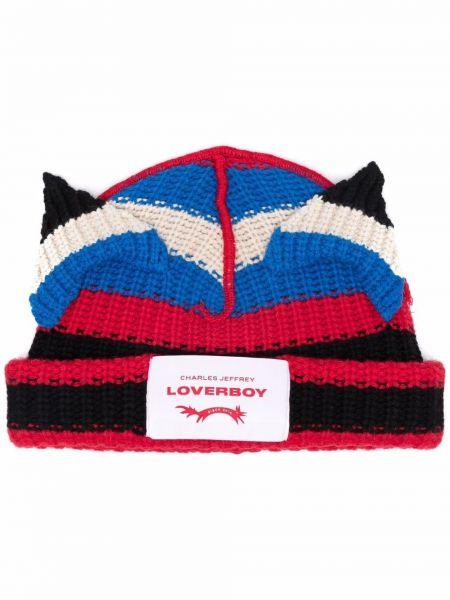 Czarna czapka wełniana Charles Jeffrey Loverboy