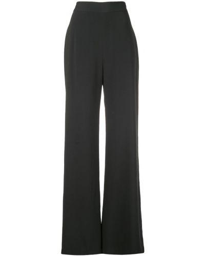 Черные расклешенные брюки Brandon Maxwell