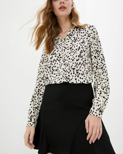 Бежевая зимняя блузка Pennyblack