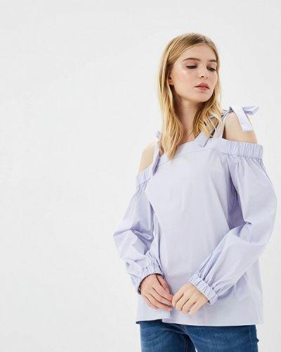 Фиолетовая блузка с открытыми плечами Michael Michael Kors