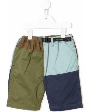 Прямые хлопковые синие брюки с поясом Denim Dungaree