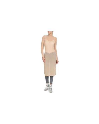 Платье бежевое Mm6 Maison Margiela