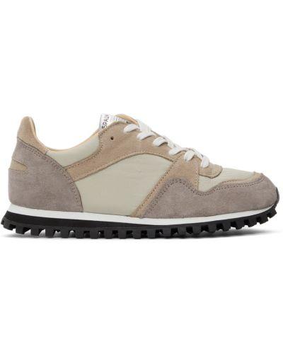 Białe buty sportowe z siateczką Spalwart