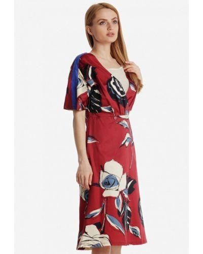 Платье прямое осеннее Artwizard