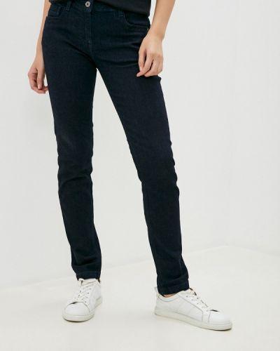 Синие джинсы-скинни узкого кроя Bikkembergs