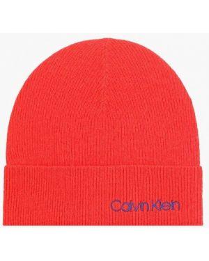 Шапка - красная Calvin Klein