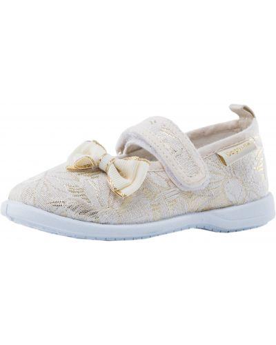 Туфли текстильные золотой Mothercare