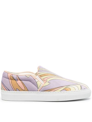 Fioletowe sneakersy Emilio Pucci