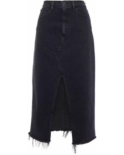 Джинсовая юбка миди 3x1