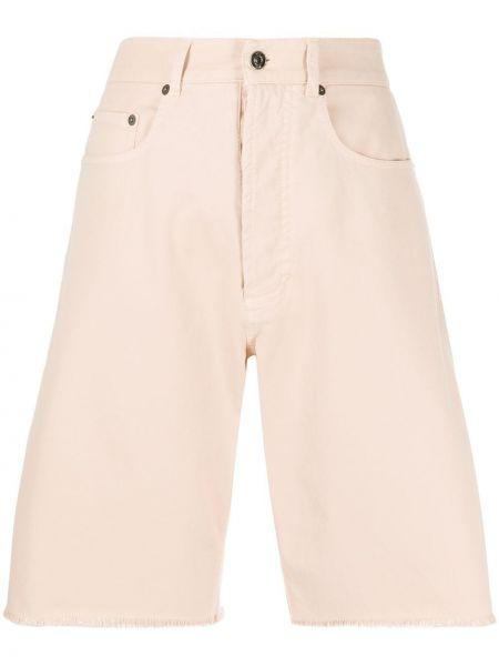 Джинсовые шорты с карманами свободные N21