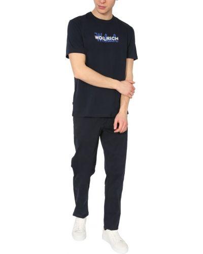 Klasyczne szare spodnie sportowe zapinane na guziki Woolrich