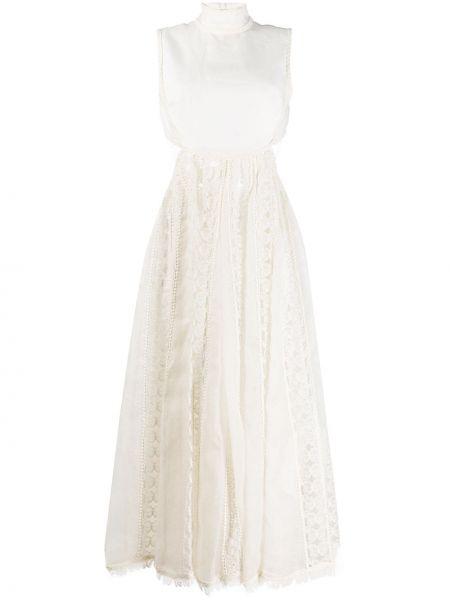 Платье миди ажурное с рукавами Zimmermann