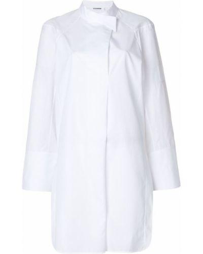 Белое платье хлопковое Jil Sander
