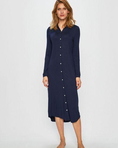 Пижама с рубашкой на пуговицах Lauren Ralph Lauren