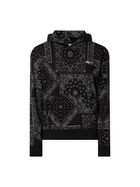 Czarna bluza z kapturem bawełniana Review