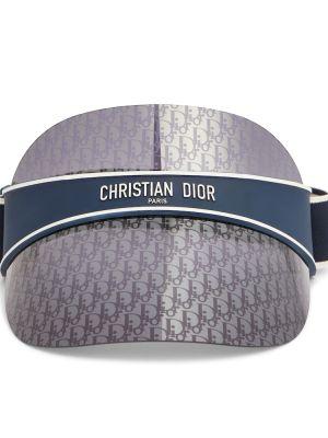 Домашний текстильный синий козырек Dior Eyewear