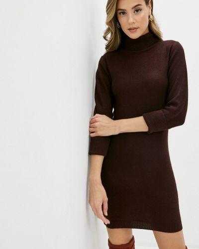 Вязаное бордовое платье Brave Soul