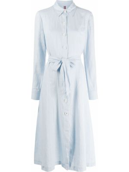 Платье миди на пуговицах платье-рубашка Tommy Hilfiger