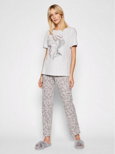 Piżama - szara Triumph