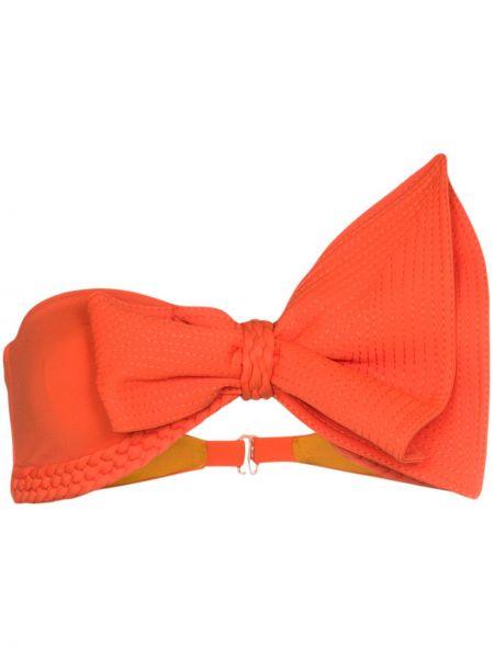 Pomarańczowy top Johanna Ortiz