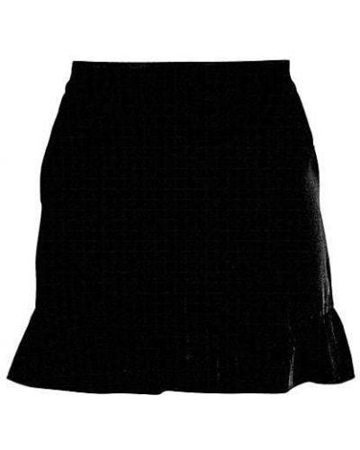 Czarne szorty z wysokim stanem vintage Bcbgmaxazria