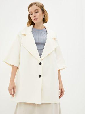 Белое зимнее пальто Fresh Cotton