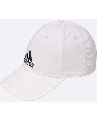 Белая кепка Adidas Performance