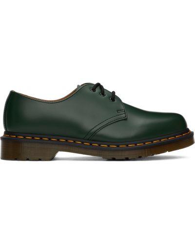 Черные туфли с круглым носом Dr Martens