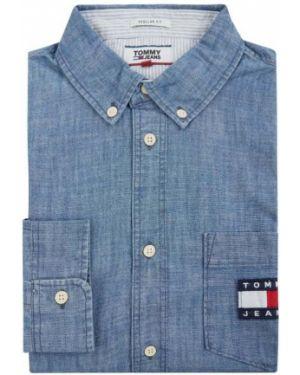 Koszula z długim rękawem dżinsowa z kieszeniami Tommy Jeans
