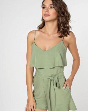 Комбинезон с шортами зеленый Itelle