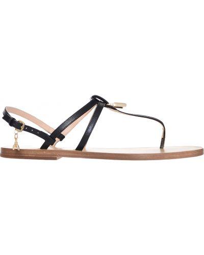 Черные сандалии Patrizia Pepe