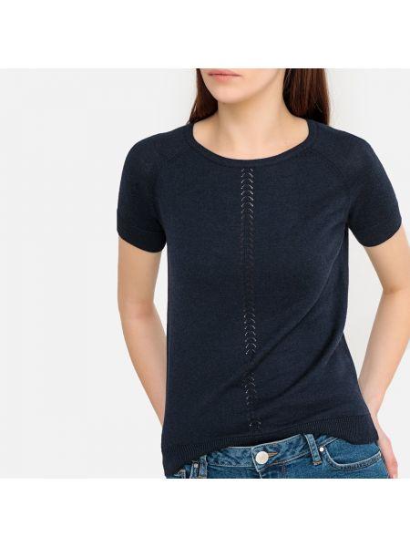 Пуловер из вискозы короткий La Redoute Collections