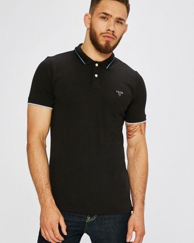 Черная футболка однотонная S.oliver