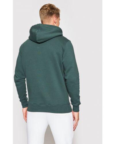 Zielona bluza z haftem Alpha Industries