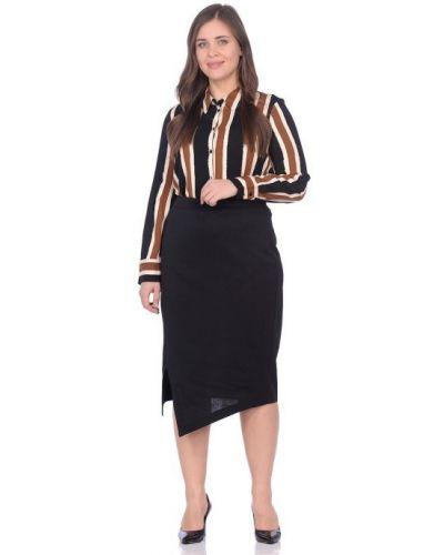 Деловая прямая юбка с разрезом Blagof