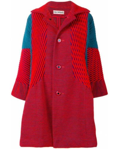 Пальто расклешенное со вставками Issey Miyake Vintage